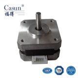 Motor de pasos híbrido bifásico NEMA17 (42SHD0216-16), motor de escalonamiento de la alta exactitud para la fresadora