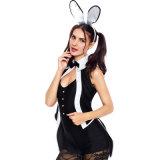 Costume зайчика Cosplay смокинга сексуальных женщин взрослый