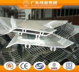 6063 T5 Perfil de obturador de aluminio fabricado en China