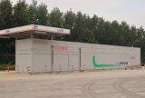 Posto de gasolina portátil automático de GNL com 20m³ Tanque de armazenamento de GNL