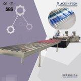 PVC+ASA/PMMA波形シートの放出ライン
