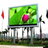 Mur polychrome extérieur de vidéo d'écran de la qualité P10 DEL