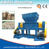 Shredder da madeira/papel/caixa/máquina dobro do triturador eixo do desperdício/granulador plástico