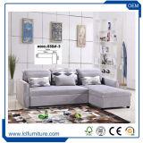 Sala de Estar da cama Sofá Tecido Sofá Secional Sofá-Cama