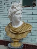 Scultura famosa di scultura di pietra della scultura capa di marmo dell'interno della decorazione