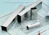 الصين صاحب مصنع 202 304 يغلفن مربّعة /Rectangular/ مستديرة فولاذ أنابيب