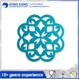 Coffre-fort de la promotion de fleur en silicone OEM Coaster