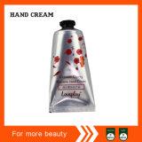Crema de la mano en tubo suave del empaquetado plástico con el tapón de tuerca