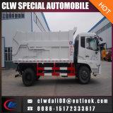 4*2 LHD Rhd 단미 쓰레기 트럭, 쓰레기 압축 분쇄기 쓰레기 트럭