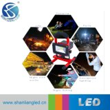 Lichte 50W Navulbare LEIDENE van het drinkbare LEIDENE Werk van de Noodsituatie Lichte Schijnwerper