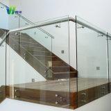 10mm ontruimen Aangemaakt Glas voor Badkamers, Traliewerk, Balstrade, de Bovenkant van de Lijst