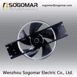 Высокоскоростной внешний вентилятор ротора с лезвиями сплава для шкафа (250FZY2-D)