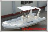 Funsor FRP aufblasbare Yacht mit Außenbordmotor
