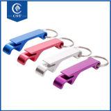 De promotie Flesopener van het Metaal Keychain van de Gift Goedkope
