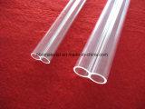 Tubo del doppio del quarzo trasparente di elevata purezza