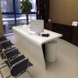 Tableau extérieur solide de marbre et présidences de bureau exécutif de meubles de bureau réglés