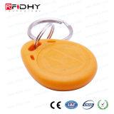 アクセス制御のための防水F08 13.56MHzのABS RFID主札Keyfob