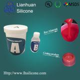 Изготовление материала силикона компонента силикона 2 печатание пусковой площадки жидкостное