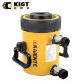 Double effet 30-150tonne de capacité hydraulique vérin hydraulique creux du plongeur