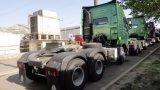 50ton /10wheels Sinotruk HOWO A7 6X4 판매를 위한 무거운 맨 위 트랙터 트럭