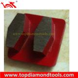 Almofadas de polonês do diamante do fechamento de Redi com segmento da ligação do metal para o concreto de lustro