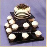 Custom le plastique acrylique clair Cup Cake Box