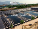 HDPE Geomembrane negro para los proyectos ambientales impermeables
