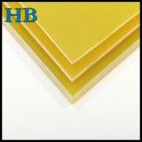Matériaux d'isolation en verre époxy stratifiés par Fr4 de feuille