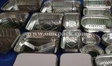 Plazoleta de contenedores de alimentos de la lámina de aluminio