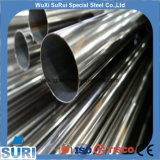 ASTM 201 202 304 316L 310S 2205 ERW soldou tubulação de aço inoxidável gravada recozida Polished para a decoração industrial