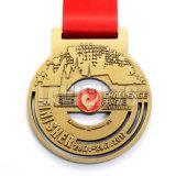 Medalla milagrosa de la venta de la venta al por mayor del oro antiguo de encargo caliente del metal