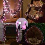2 света водоустойчивых фейерверка цвета декоративных на венчание 10FT сада партии Xmas романтичное 400 СИД
