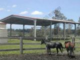 Vertiente movible del caballo de la casa prefabricada