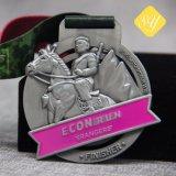 L'émail de gros de l'exécution Marathon Football Sports moulé Médaille Miraculeuse