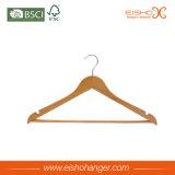 Percha de madera de la camisa precio bueno normal al por mayor de la alta calidad del mejor