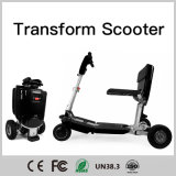 3wheels Electric Folding camera Scooter, Three-wheeled Electric Transformation for Sayable Elderly and