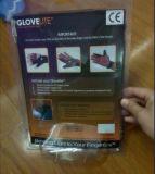 高品質の防水スリップ防止ナイロン屋外の警察LEDの手袋(SYSG-1808)