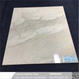 Серый цвет с остеклением мраморный полированный пол из фарфора плиткой (VRP6H057)