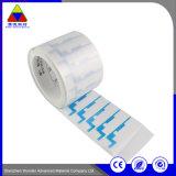 Etiqueta de impressão de tamanho personalizado de papel auto-adesivo para películas de embalagem