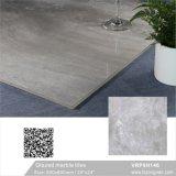 Material de construção China Cor Cinza Foshan polido de mármore piso de porcelana vidrada Tile (VRP6H146, 600x600mm)