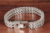 21cm lang 12mm het Brede Europese en Amerikaanse Roestvrij staal Bracelets&Bangles van de Schalen van de Vissen van de Persoonlijkheid Vierkante voor Mensen