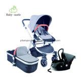 Китай на заводе для изготовителей оборудования для детей Дети детского алюминия 3 в 1 детский хороший ребенок Stroller складывания крыльев