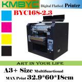 Imprimante UV de caisse de téléphone de coût bas à plat bon marché de l'imprimante Byc168-2.3