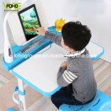 As crianças mesa e cadeira de plástico Definir Leitura ergonômica ajustável