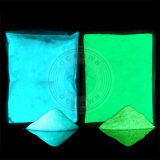 Helles Glühen im dunkles Puder-leuchtenden Phosphornagel-Pigment
