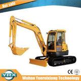 Mini máquina escavadora feita sob medida da esteira rolante, máquina escavadora Yrx60