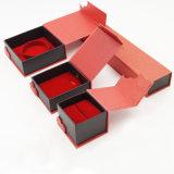 ブレスレットのリングの宝石類のビロードのFlanneletteボックス(J63-E1)
