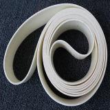 빵집 응용 Ub-W15를 위한 FDA 음식 컨베이어 벨트 색깔 백색 간격 1.5mm
