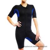 Hecha de neopreno Body Shaper adelgaza traje impermeable para deportes