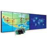 スクリーンを広告する狭い斜面が付いている2X2 3X3 4X4 LCDのビデオ壁